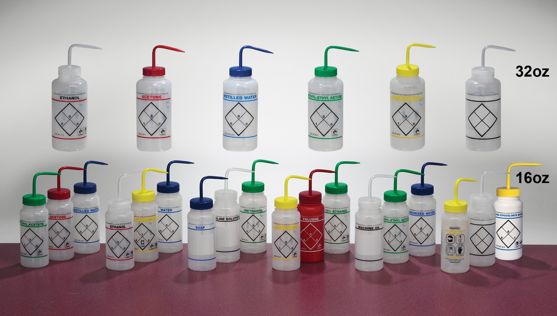 Wash Bottles / Spray Bottles