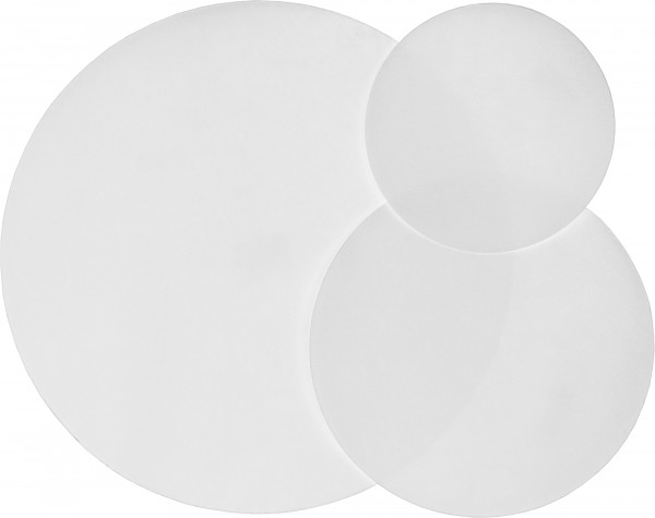 Filter paper circles, No. 43 (MN 640 m), 150mm (Pack of 100 filters)