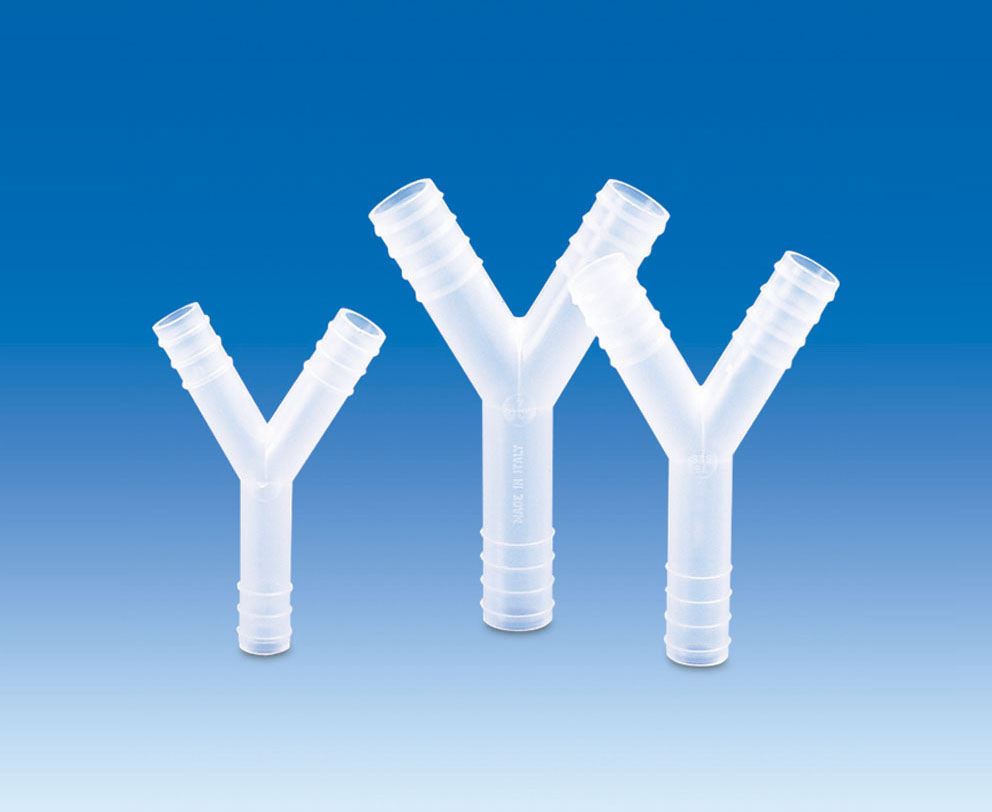 Y-Connectors, PP (For tubing with inner dia 8-9mm) (Pack of 20)