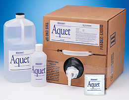 AQUET liquid detergent with neutral pH (1 Gallon)