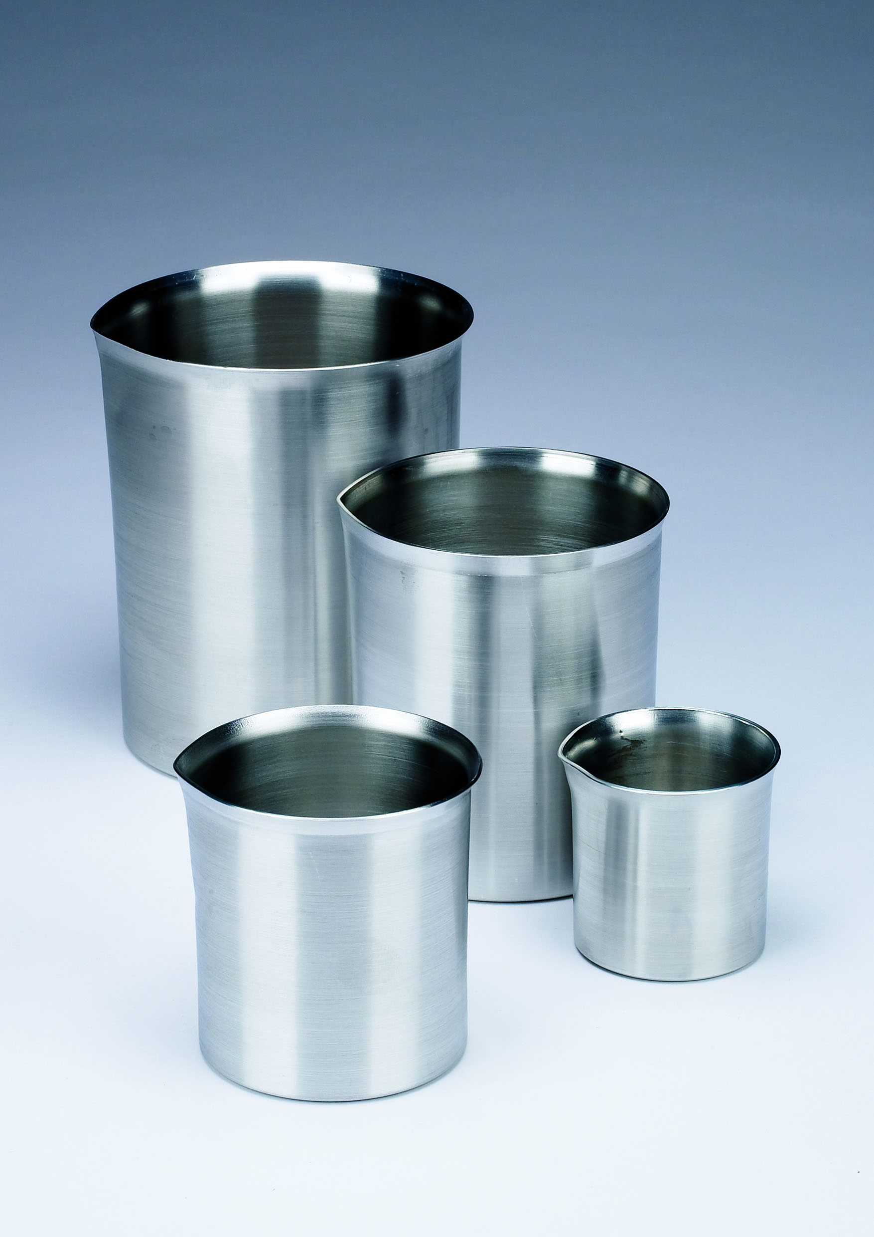 Aluminium beaker 550ml, without spout
