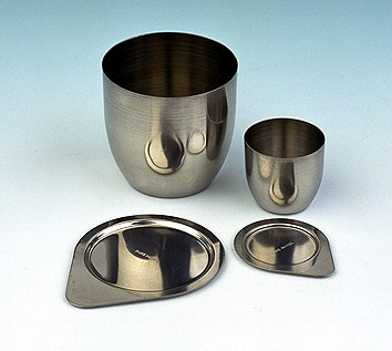 Stainless steel lid, for stainless steel crucible 50ml