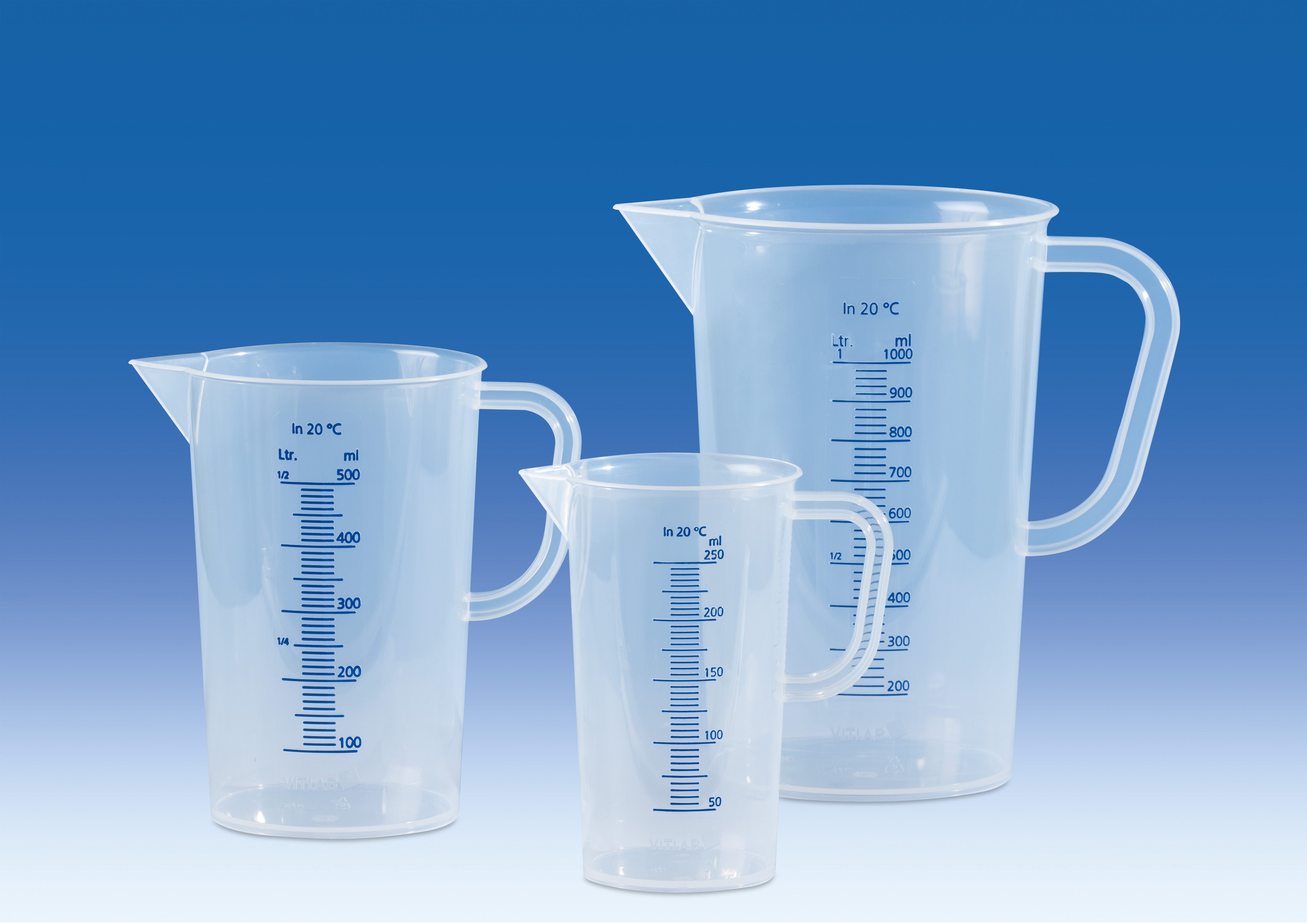 Plastic jug 100ml, PP